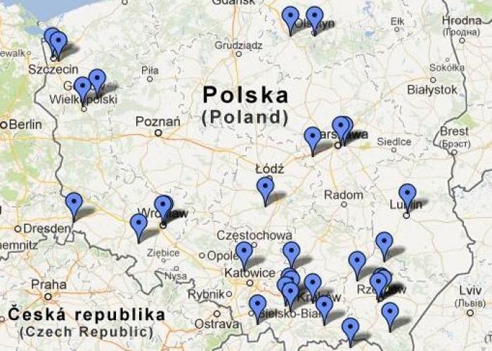 Mapa Wykonawców