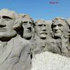 Miniatura Pomnika Prezydentów USA W Sztucznej Skale. Barwniki Reaktywne Stone Tone Stain Barwniki Polimerowe Rembrandt Clear A Thane. Wykonawca – Magic Art Sztuczne Skały – E Mail Finisznamur@wp.pl