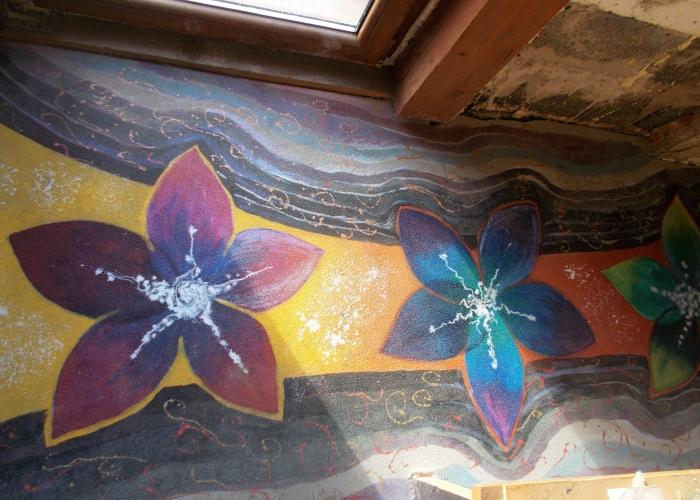 Kwiaty Na Betonie Tyt.