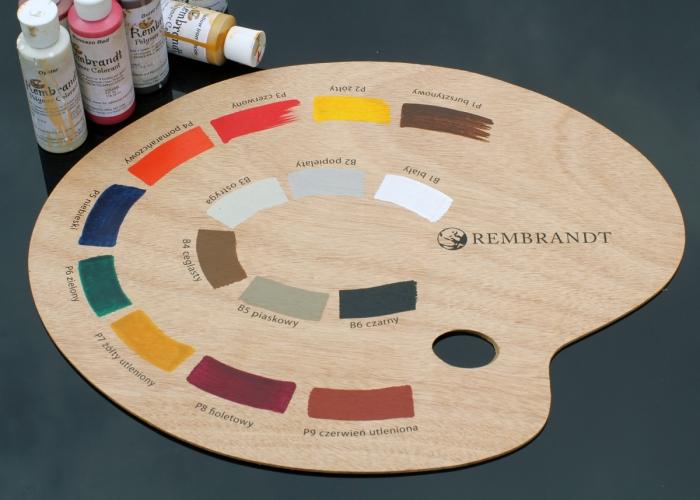 paleta barw Rembrandt