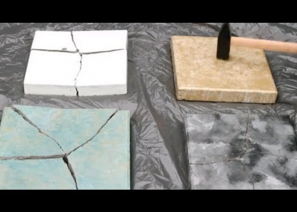 Test zabezpieczeń posadzek betonowych