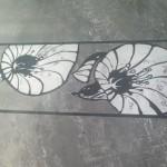 wzór malowany na podzadzce
