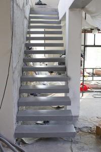 efekt końcowy schody betonowe