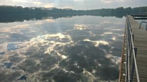 Lido ośrodek rekreacji jezioro Szperek gd. Przygodzice