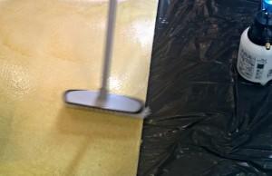 prezentacja nakładania barwnika reaktywnego