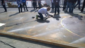 World of Concrete Las Vegas 2015 prezentacja dekoracji Kemiko