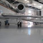 zabepieczenie posadzki hangar lotniczy